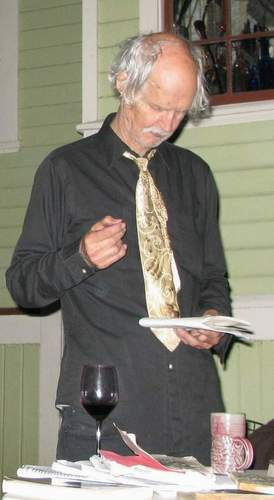 Walt Curtis: Salmon Poet…Standing In The Fire Of Love